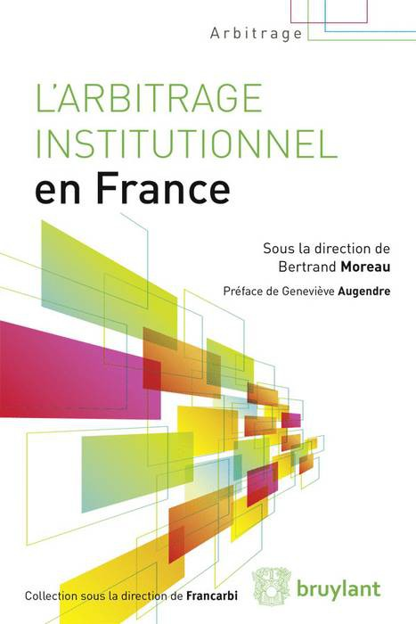 arbitrage institutionnel en france